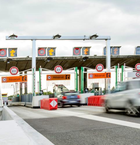 Télépéage sans arrêt à Dijon - Crimolois (A39)